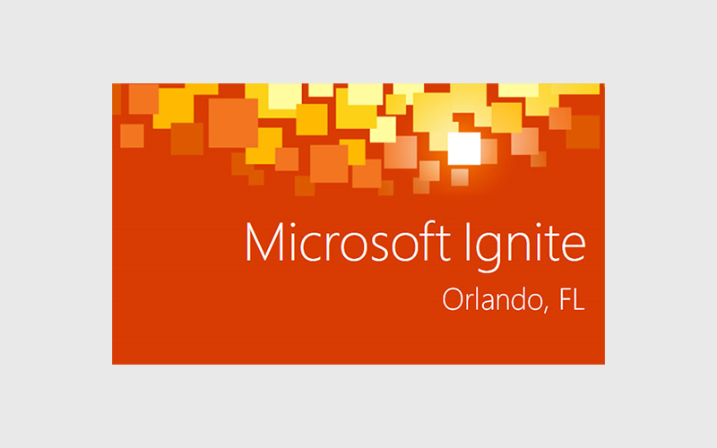 Microsoft Ignite Orlando